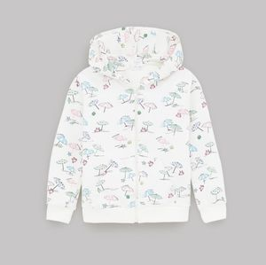 Girl Printed Hooded Jacket NWT